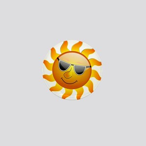COOL SMILEY FACE SUNSHINE Mini Button