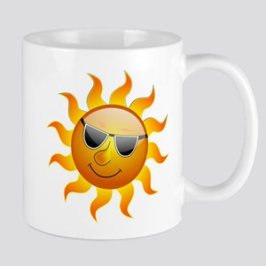 cool smiley face sunshine mugs