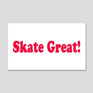 Skate Great Wall Decal