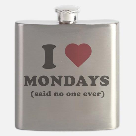 I love Mondays said no one Flask