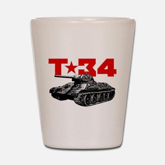 T-34 Shot Glass