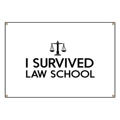 I survived law school Banner by mycareer