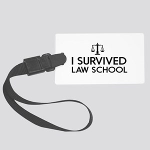 I survived law school Luggage Tag