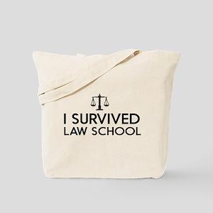 I survived law school Tote Bag