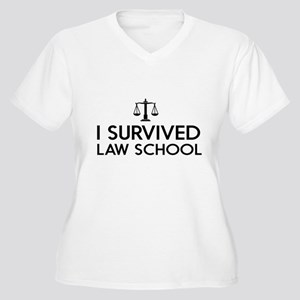I survived law school Plus Size T-Shirt