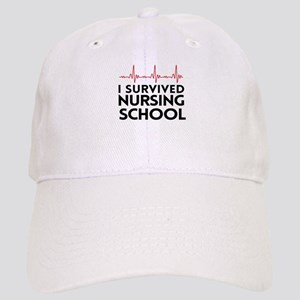 I survived nursing school Baseball Cap