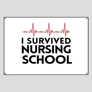I survived nursing school Banner