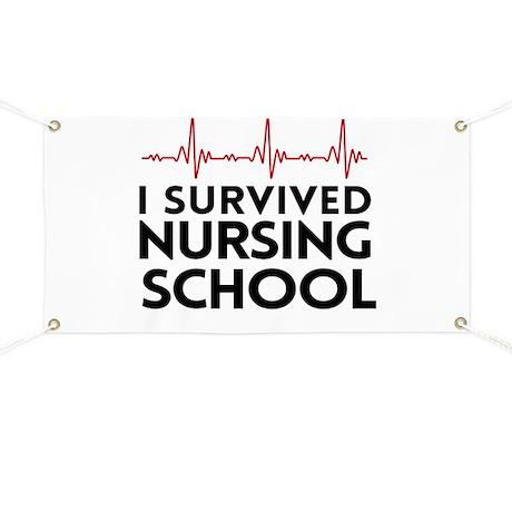 I survived nursing school Banner