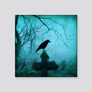 Blue Mist Crow Sticker