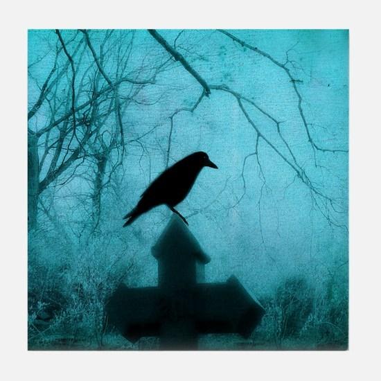 Blackbird Tile Coaster