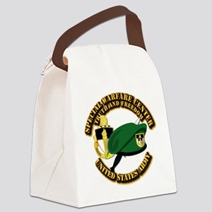 SWC - Beret Dagger DUI Canvas Lunch Bag
