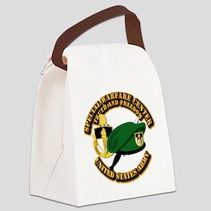 SWC - Beret Dagger DUI Canvas Lunch Bag