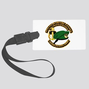 Swc - Beret Dagger Dui Large Luggage Tag