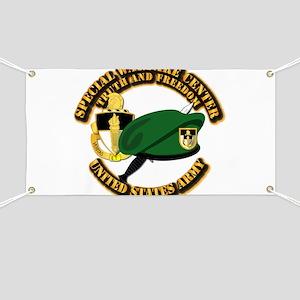 SWC - Beret Dagger DUI Banner