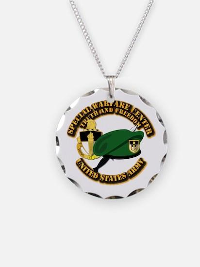Swc - Beret Dagger Dui Necklace
