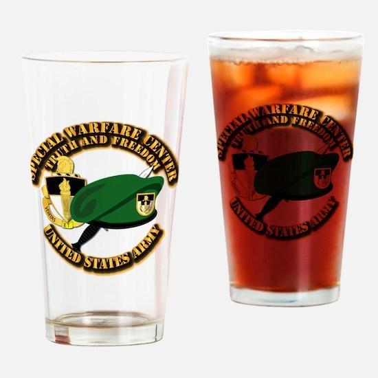 SWC - Beret Dagger DUI Drinking Glass