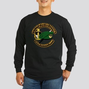 SWC - Beret Dagger DUI Long Sleeve Dark T-Shirt
