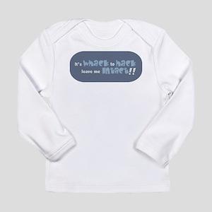 whacktohackfront Long Sleeve T-Shirt