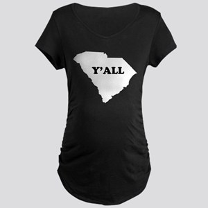 South Carolina Yall Maternity T-Shirt