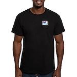 Uwingu Men's Fitted T-Shirt (dark)