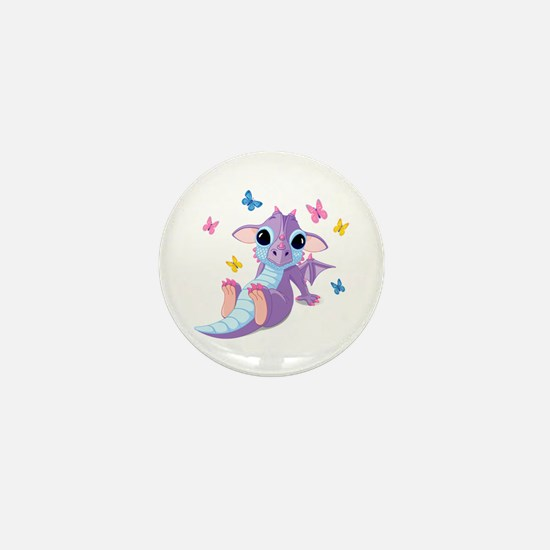 Baby Dragon - Mini Button