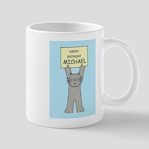 Happy Birthday Michael Mugs