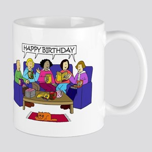 Happy Birthday from the Book Group Mugs