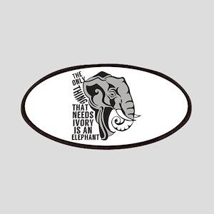 Elephant Animal Activist Patch