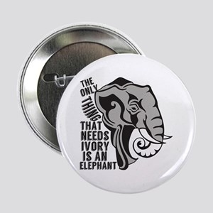 "Save Elephants 2.25"" Button"