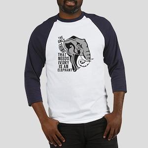 Save Elephants Baseball Jersey