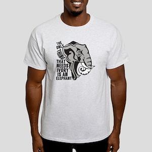 Save Elephants Light T-Shirt