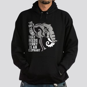 Save Elephants Hoodie (dark)