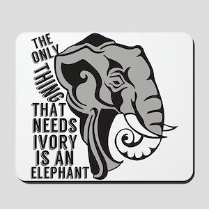 Save Elephants Mousepad