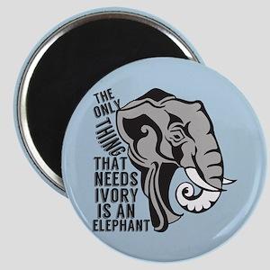 Save Elephants Magnet