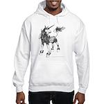 Dappled Unicorn Hooded Sweatshirt