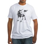 Dappled Unicorn Fitted T-Shirt