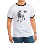 Dappled Unicorn Ringer T