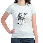 Dappled Unicorn Jr. Ringer T-Shirt