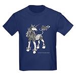 Dappled Unicorn Kids Dark T-Shirt