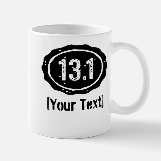 13.1 Personalized Half Marathon Mugs