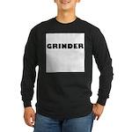 GRINDER Long Sleeve Dark T-Shirt