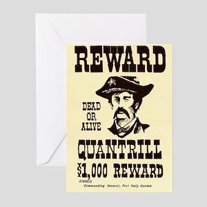 William Quantrill Greeting Cards (Pk of 10)