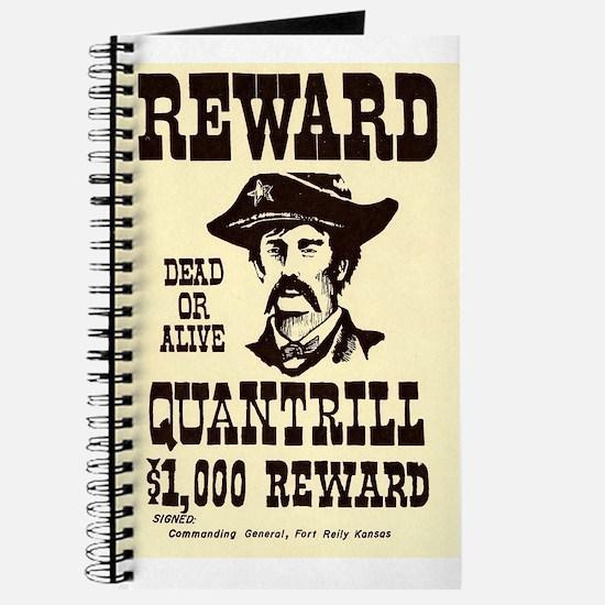 William Quantrill Journal