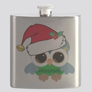 Christmas Owl Flask