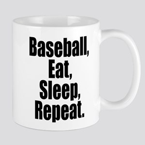 Baseball Eat Sleep Repeat Mugs