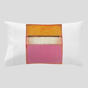 ROTHKO WHITE CENTER PINK ORANGE Pillow Case