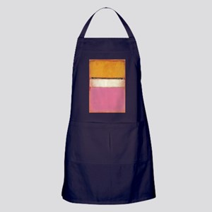 ROTHKO WHITE CENTER PINK ORANGE Apron (dark)