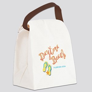 Daytona Beach Canvas Lunch Bag
