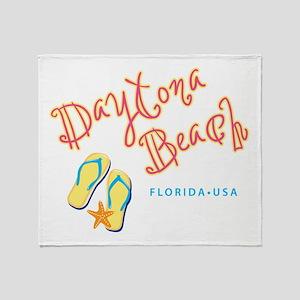 Daytona Beach Throw Blanket