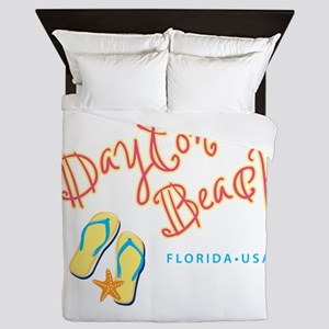 Daytona Beach Queen Duvet